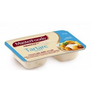 Tartare Sauce Squeeze Portion Control 100 x 11g Masterfoods
