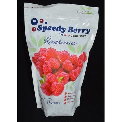 Raspberries Fruit 1kg A Grade Frozen Speedy Berry