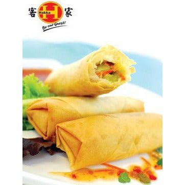 Spring Rolls Medium Vegetable 36 x 50g Frozen Hakka