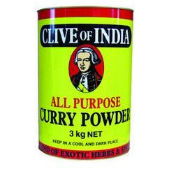 Spice Curry Powder All Purpose 3kg Clive of India