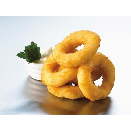 Calamari Rings Crumbed 1kg Frozen Seawave 30-40 pieces