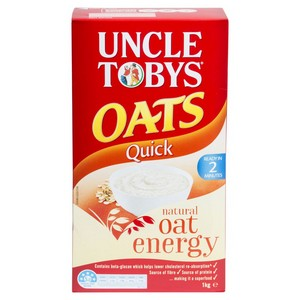 Oats Minute (Quick) 1kg Uncle Tobys