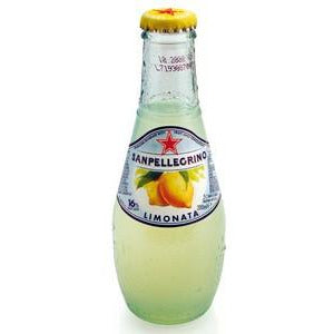 Limonata Glass Bottles 24 x 200ml San Pellegrino