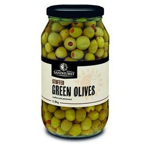 Olives Green Stuffed 1.9kg Sandhurst