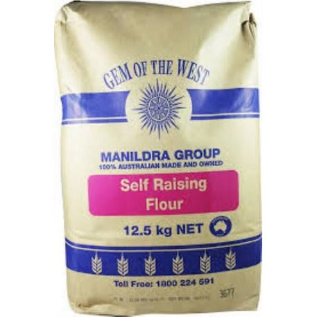 Flour Self Raising 12.5kg Manildra