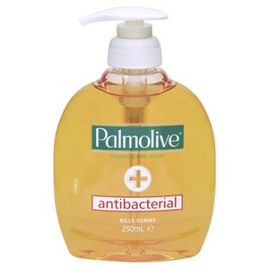 Soap Hand Antibacterial Wash 6 x 250ml Palmolive (1 pack limit)