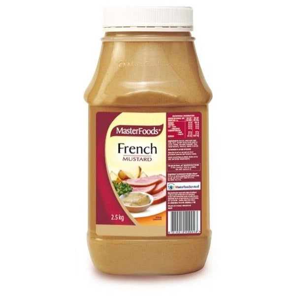 French Mustard 2.5kg Masterfoods