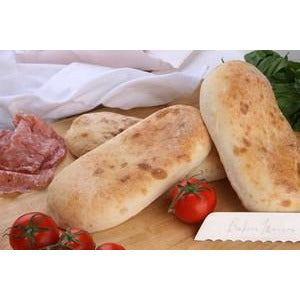 Bread Rolls Turkish Oval 60 x 130g Fully Baked Bread Frozen