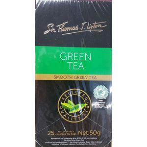 Tea Green Bags Envelope 25s Sir Thomas