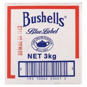 Tea Black Leaves Blue Label 3kg Bushell