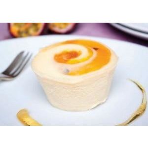 Peach Passionfruit Cheesecake Mini Gluten Free 8 x 100g Frozen Priestleys