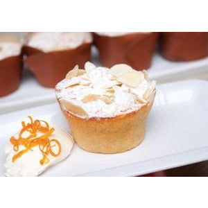Orange Almond Mini Cake Gluten Free 8 x 90g Frozen Priestleys