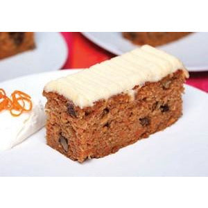 Carrot Cake Slice Tray Pre Sliced 15 x 125g Frozen Priestleys