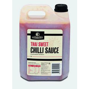 Chilli Sauce Sweet Thai 5L Sandhurst