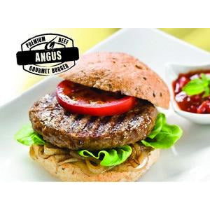 Burgers Angus Beef 54 x 150g Par Cooked Angel Bay