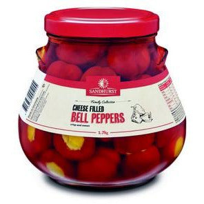 Belle Peppers Cheese Filled 1.7kg Sandhurst