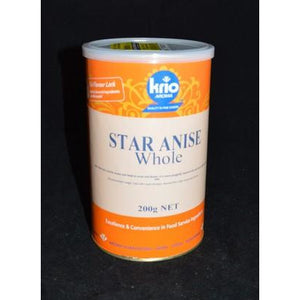 Star Anise Whole Canister 200g Krio Krush