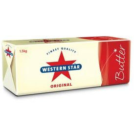 Butter Salted 1.5kg Western Star