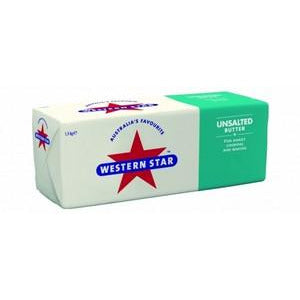Butter Unsalted 1.5kg Western Star