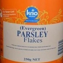 Parsley Flakes 250g Canister Krio Krush