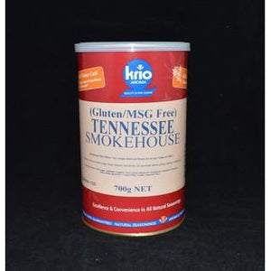 Tennessee Smokehouse Rub Gluten Free Canister 700g Krio Krush