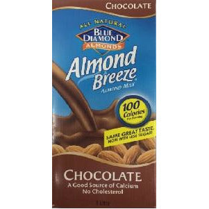 Chocolate Milk Drink Dairy Free 8 x 1L Almond Breeze