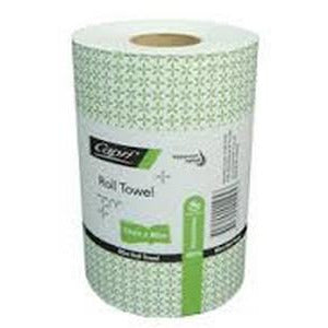 Paper Roll Towel Recycled 80m Capri