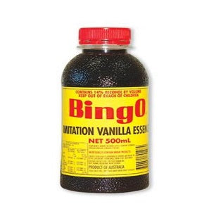 Vanilla Imitation Essence 500ml Bingo