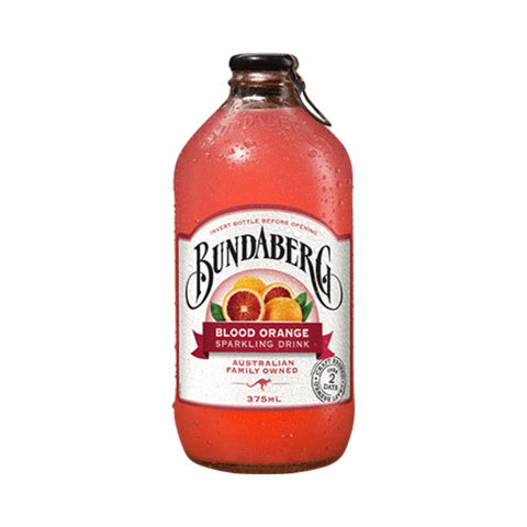 Blood Orange Drink Glass Bottle 12 x 375ml Bundaberg