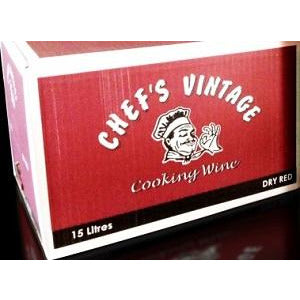 Cooking Wine Red 15L Chefs Vintage