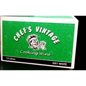 Cooking Wine White 15L Chefs Vintage