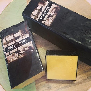 Vintage Cheddar Cheese Block 2kg Warrnambool