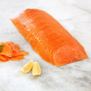 Smoked Salmon Fish Norwegian 1kg KB