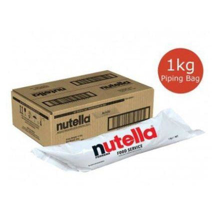 Nutella Piping Bag 6 x 1kg