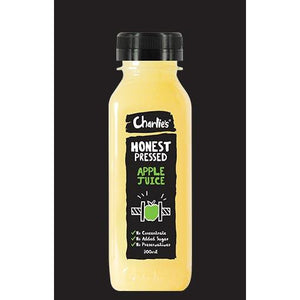 Juice Apple Fresh 100% plastic bottles 12 x 300ml Charlies