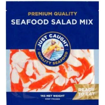 Seafood Extender Salad Mix 1kg Frozen Just Caught