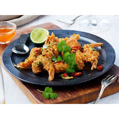 Prawns Double Crunch Salt And Pepper 1kg Frozen I & J 60 pieces