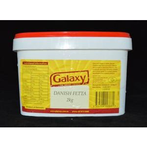 Fetta Cheese Danish 2kg Galaxy