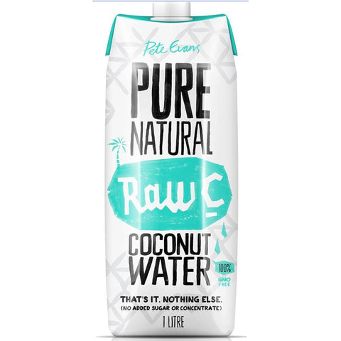 Coconut Water 6 x 1 litre Raw C
