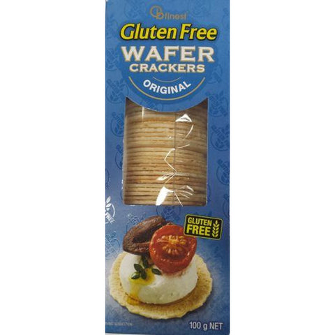 Wafer Crackers Gluten Free 100g Ob Finest