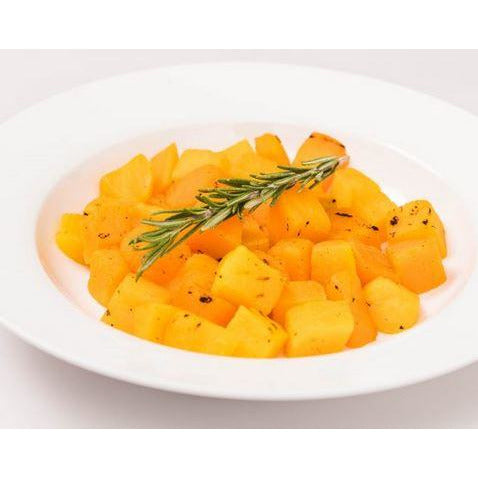 Pumpkin Roasted Diced 20mm IQF 2kg Frozen Charworks
