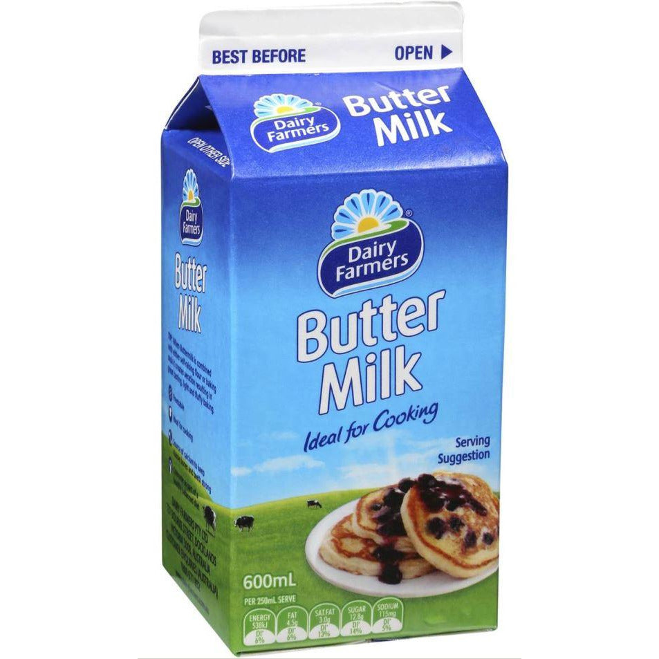 Buttermilk 600ml Dairy Farmers