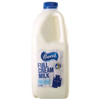 Milk Fresh Full Cream 2L Procal