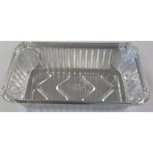 Foil Container Rectangular 19oz Medium (500ml approx)  100s Capri