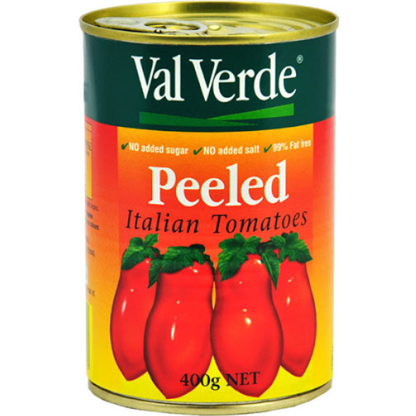Tomatoes Peeled Whole Canned 400g Valverde