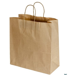 Carry Bags Kraft Large 250's Twist Handle