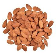 Almond Kernels Whole Natural Skin on 1kg Galaxy