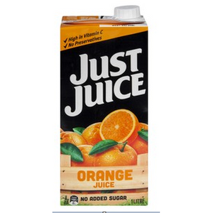 Juice Orange 1L Tetra Pack Just Juice