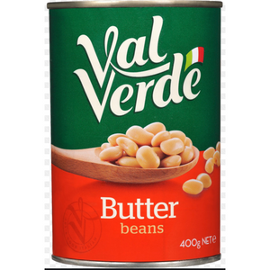 Butter Beans Canned 400g Val Verde