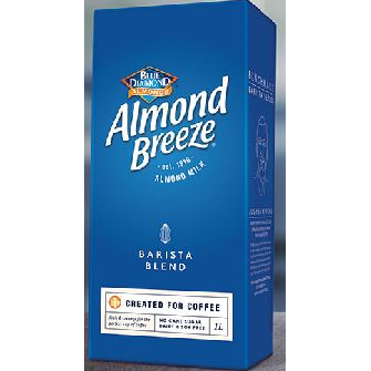 Almond Milk Barista 8 x 1L Blue Diamond Almond Breeze
